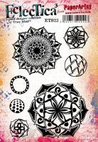 Tracy Scott 23 Eclectica Stamp set for PaperArtsy
