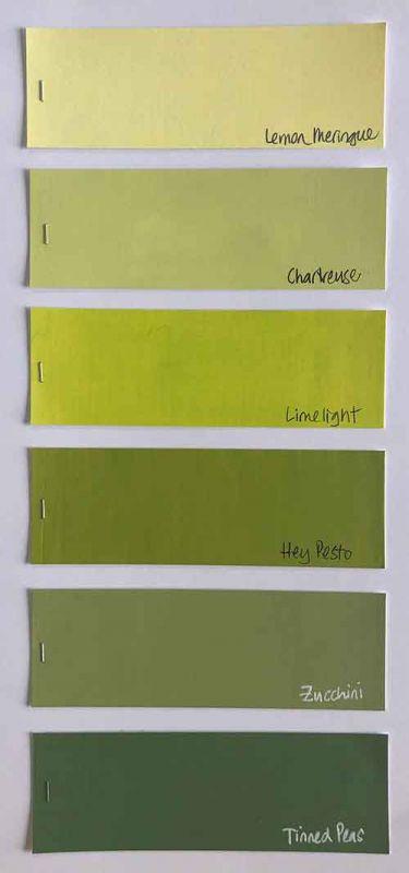 Family 22 - Yellow Greens