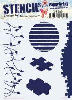 France Papillon PS229 Paperartsy Regular Stencil