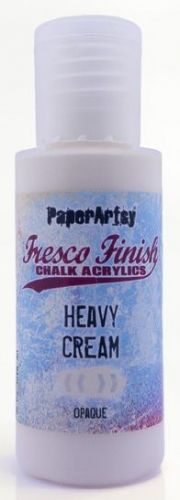 Heavy Cream (Seth Apter) Fresco Finish PaperArtsy Paint