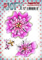 Jo Firth Young (JOFY91) PaperArtsy A5 cling rubber stamp set