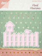 Joy Crafts Craft Die - Floral Flourishes - Fence - 6002-0192