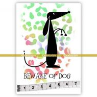 Dog 03 (SOLO031) Single Unmounted Rubber Stamp by Katzelcraft