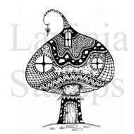 Zen Mushroom House (LAV309) by Lavinia Stamps