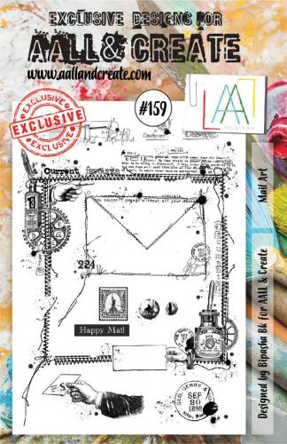 No. 159 Aall and Create Stamp Set (A5)