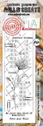 No. 164 Flourish Aall and Create Stamp Set (Border)
