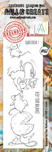 No. 167 Balance Aall and Create Border Stamp Set by Olga Heldwein
