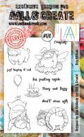 No. 170 Dog Attitude Aall and Create Stamp Set (A6)