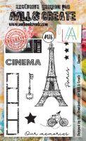 No. 176 Cinema Aall and Create Stamp Set (A6)