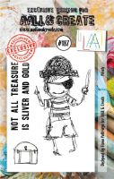 No. 187 Pirate Aall and Create Stamp Set (A7)