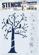 PaperArtsy Stencil 103 {EDY}