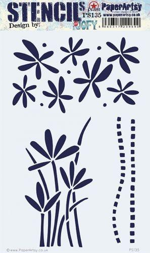 PaperArtsy Stencil 135 Large {JoFY}
