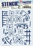 Paperartsy stencil esn PS202 regular