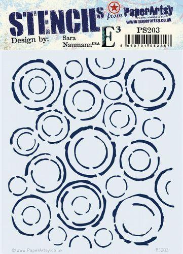 Paperartsy stencil esn PS203 regular