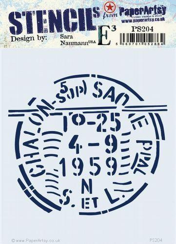 Paperartsy stencil esn PS204 regular