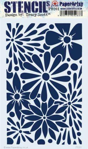 E Tracy Scott Paperartsy Large Stencil (PS201)