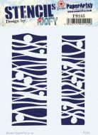 PaperArtsy Regular Stencil (JOFY - PS165)