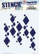 PaperArtsy Regular Stencil (JOFY - PS166)