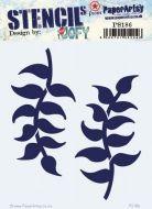 Paperartsy stencil jofy PS186 regular