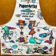 PaperArtsy ZINSKI ART Apron