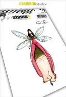 Princess fairy Soizic a6 cling stamp by Carabelle Studio SA60402