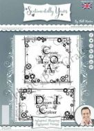Industrial Blueprint Engineered Frames - Phill Martin Cling Rubber Stamps (SYCL009)