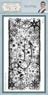 Snowflakes Phill Martin Cling Rubber Stamps (SYR029)