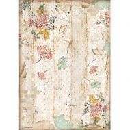 A4 Rice paper packed - Alice wall texture (DFSA4603) by Stamperia