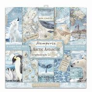 Arctic Antarctic Scrapbooking Pad 10 sheets cm 30cm by 30cm(SBBL77) by Stamperia