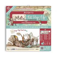 Pop up kit - Alice tea party *UK ONLY* (SBPOP01) by Stamperia