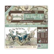 Pop up kit - *UK ONLY* Voyages Fantastiques baloon (SBPOP03) by Stamperia