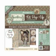 Tunnel Pop up kit *UK ONLY* - Voyages Fantastiques (SBPOP06) by Stamperia